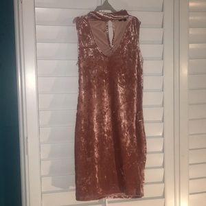 Forever 21 Velvet Cutout Dress